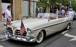 Chrysler Imperial Parade Phaeton ceremonial vehicles