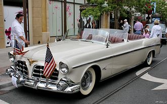 """Chrysler Imperial Parade Phaeton - The """"Detroit"""" Parade Phaeton, now owned by the Petersen Automotive Museum"""
