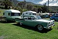1960 Ford Fairlane 500 sedan with vintage Sunliner caravan (6263499340).jpg