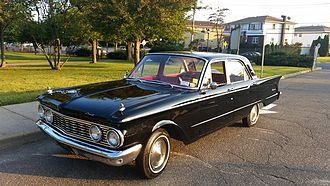 Mercury Comet - 1961 Comet 4-door sedan new grille design