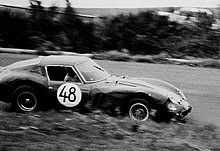 250 GTO (chassis 3809GT) driven by Kalman von Czazy and Karl Foitek during the 1963 1000km Nürburgring