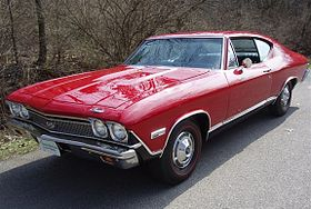 1968 Chevrolet Chevelle SS396 Hardtop Coupe