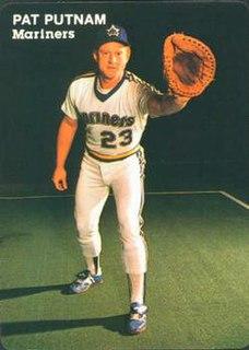 Pat Putnam American baseball player