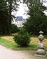 19850708034NR Burg Schloß Burg Sicht aus dem Park.jpg