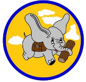 19th Military Airlift Squadron - Image: 19 Logistic Support Sq emblem