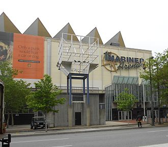 Royal Farms Arena - Exterior of arena (c.2012)