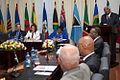 20-05-2014- Georgetown-Guyana, Canciller Ricardo Patiño asiste a la inauguracion de la reunion COFCOR Foto; David G Silvers -2 (14228153921).jpg