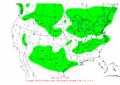 2002-12-03 24-hr Precipitation Map NOAA.png