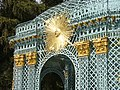 2002.Gitterpavillon verziert mit vergoldeten Sonnen und Instrumenten(1775)-Sanssouci-Steffen Heilfort.JPG