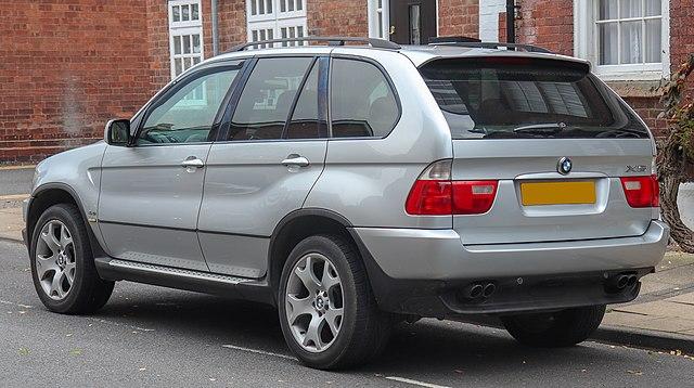 2002 BMW X5 Sport Automatic 4.4 Rear