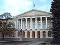 2003年 列宁塑像-Smolny Institute(Смольный институт)斯莫尔尼学院 - panoramio.jpg