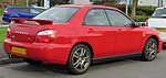 2003 Subaru Impreza WRX Turbo 2.0 Rear.jpg