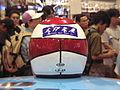 20040822 22 August 2004 Character Hobby Show Getwin Helmet Kazami Hayato 3 Odaiba Tokyo Japan.jpg