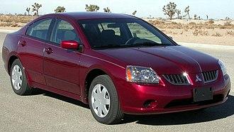Mitsubishi Galant - 2004 Mitsubishi Galant