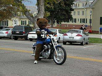 "University of Northern Colorado - The university's mascot, ""Klawz"""