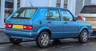Volkswagen Citi Golf - Rear (2006 facelift)