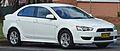 2007-2009 Mitsubishi Lancer (CJ) VR sedan 01.jpg
