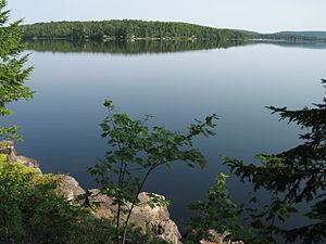 Lac-des-Écorces, Quebec - Lac des Écorces (Bark Lake)