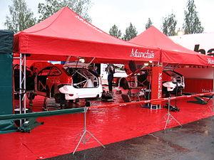 2007 Rally Finland preparations 08.JPG
