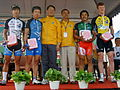 2008TourDeTaiwan Stage4 Changhua Stage Winners.jpg