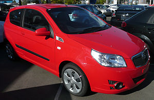 2008 Holden TK Barina (MY09) 3-door hatchback 02.jpg
