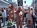 2008 Olympic Torch Relay in SF - Embarcadero 41.JPG