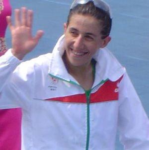 Vanessa Fernandes - Fernandes at the 2008 Summer Olympics