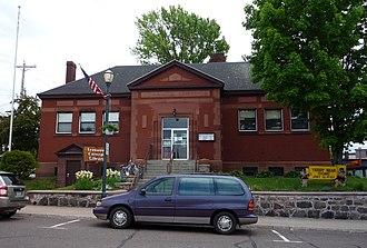 Ironwood, Michigan - Ironwood Carnegie Library