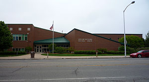 Escanaba, Michigan - City Hall and Library