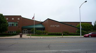 Escanaba, Michigan - Escanaba City Hall and Library