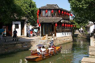 Tongli town in China
