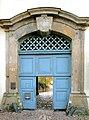 20091101018DR Meißen Freiheit 16 St Afra Klosterhof Portal.jpg