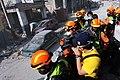2010년 중앙119구조단 아이티 지진 국제출동100118 중앙은행 수색재개 및 기숙사 수색활동 (139).jpg