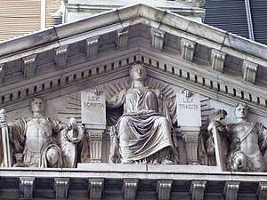 Charles Henry Niehaus - Triumph of Law (1896-1900), Appellate Court House, New York City