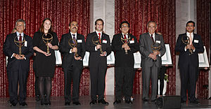 Business for Peace Foundation - 2010 Honourees