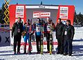 2011 Rogla FIS Cross-Country World Cup, podium (2).jpg