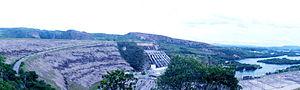 Furnas Dam - Image: 2012 01 12 Furnas Barragem