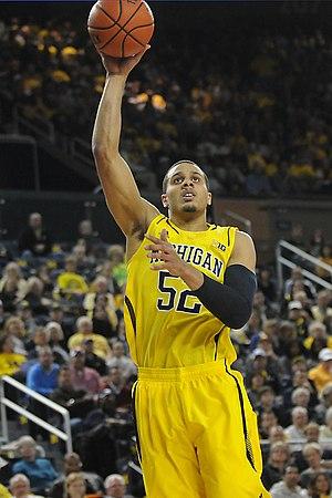 Jordan Morgan - Morgan in 2012 with Michigan.