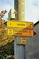 2012 Cierlicko Dolne, Znaki szlaków rowerowych (01).jpg