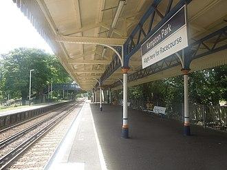 Kempton Park railway station - Image: 2012 Rock Gem n Bead Show 68