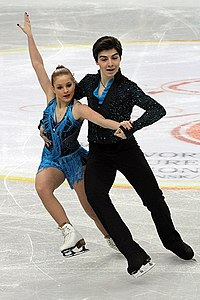 2012 World Junior FS Çağla Demirsal Berk Akalın.jpg