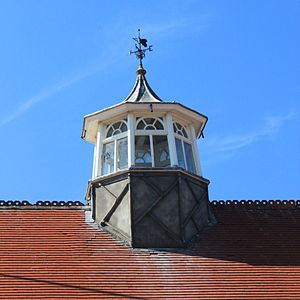 Felixstowe railway station - The roof lantern