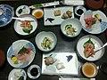 20131007 42 Kanazawa - Food served at Nakayasu Ryokan (10477174574).jpg