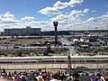 2013 AAA 400 final practice from finish line.jpg