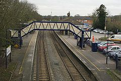 2013 at Mortimer station - footbridge.JPG