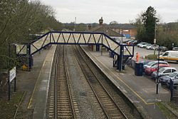2013 at Mortimer station - footbridge.JPG