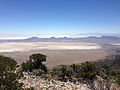 2014-06-29 11 59 42 View south-southeast from about 9030 feet on the main Pilot Peak, Nevada ridgeline north of Miner's Canyon.JPG