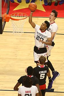2952af9dc Trier at the 2015 McDonald s All-American Boys Game