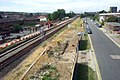 2015 London-Abbey Wood, Crossrail construction site 3.jpg