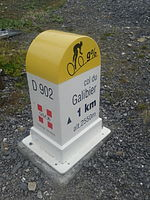 2015 Mountain pass cycling milestone - Galibier from Valloire.jpg